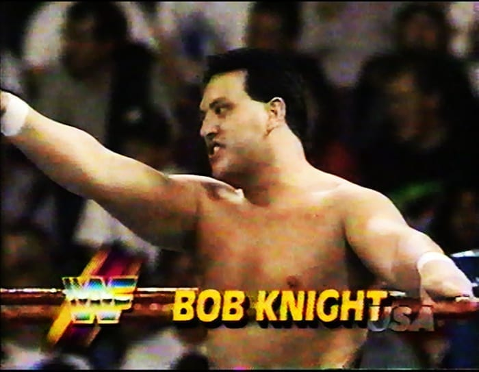 Bob Knight WWF Jobber