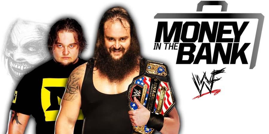 Bray Wyatt Braun Strowman WWE Money In The Bank