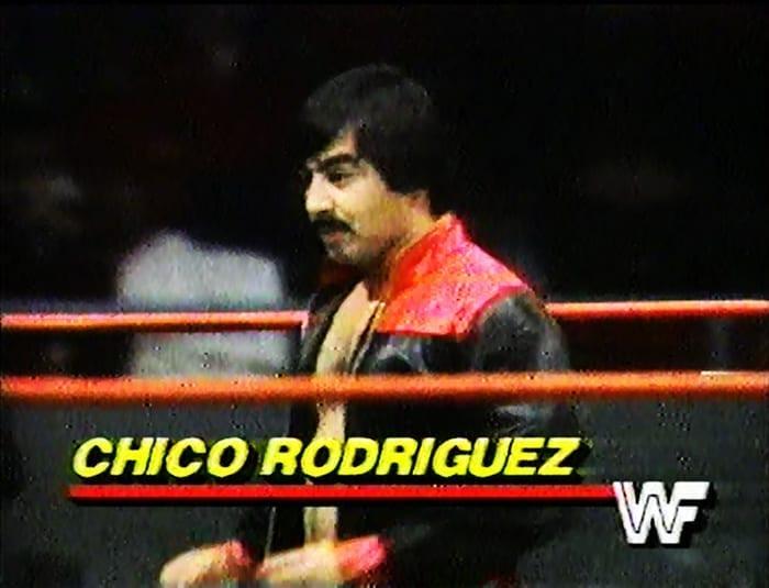 Chico Rodriguez WWF Jobber
