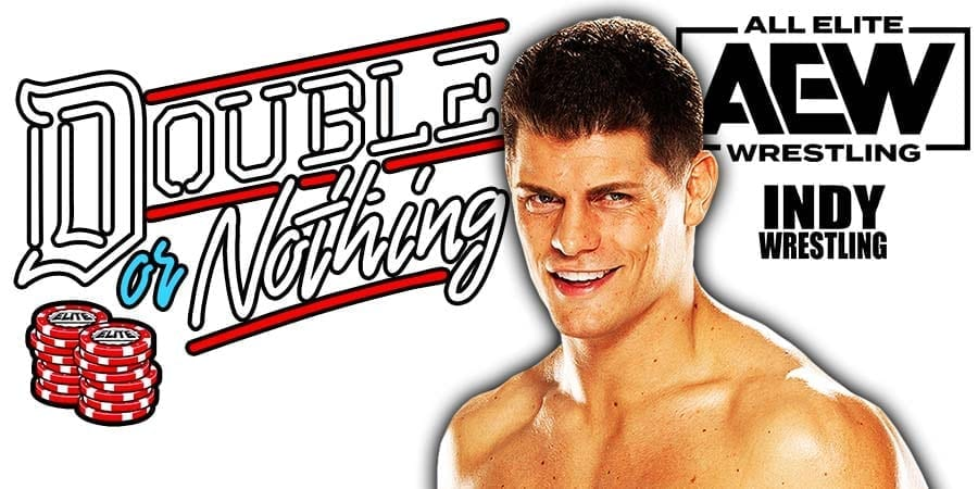 Cody Rhodes AEW Double Or Nothing 2020