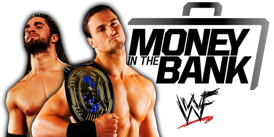 Drew McIntyre defeated Seth Rollins at WWE Money In The Bank 2020