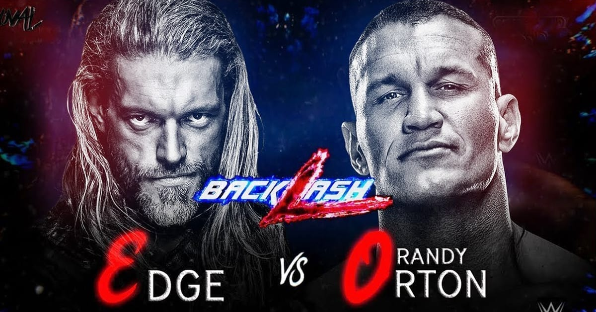 Edge vs Randy Orton WWE Backlash 2020