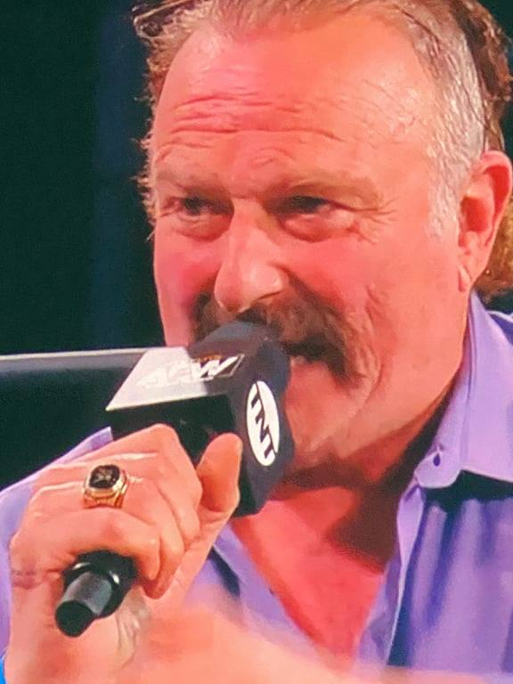 Jake Roberts WWE Hall Of Fame Ring Shown On AEW Dynamite