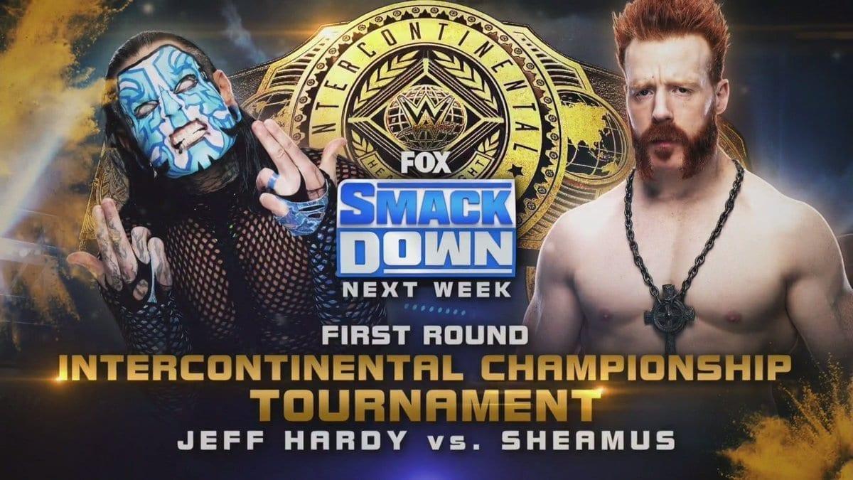 Jeff Hardy vs Sheamus - Intercontinental Championship Tournament Match
