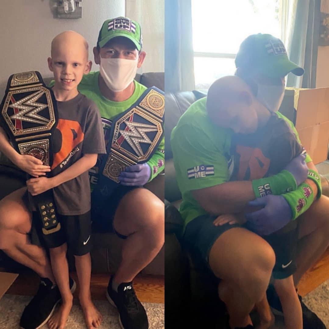 John Cena Surprises A Fan Battling Life-Threatening Illness During Coronavirus Pandemic