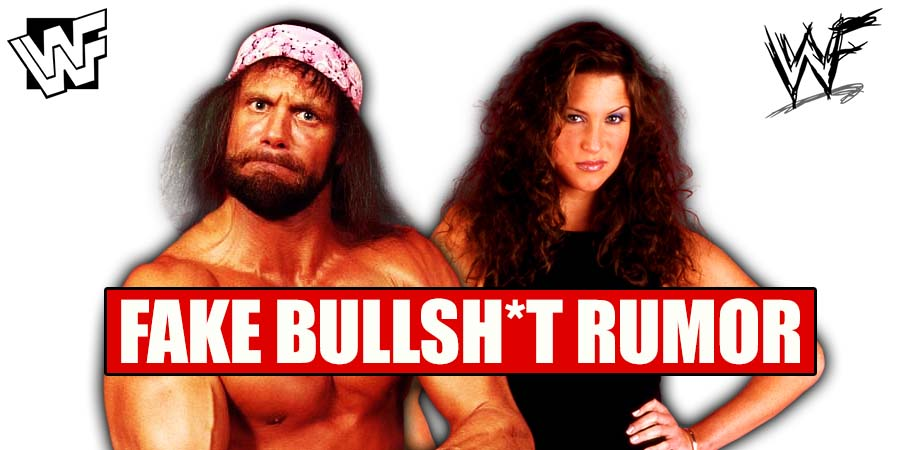 Macho Man Randy Savage Stephanie McMahon Fake Relationship Rumor