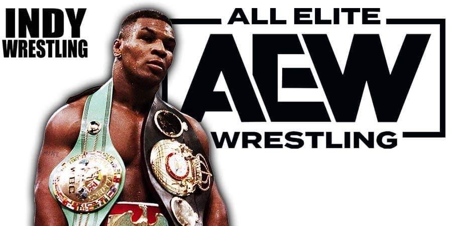 Mike Tyson AEW All Elite Wrestling