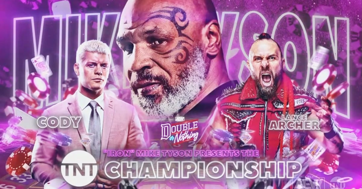 Mike Tyson to present TNT Championship to winner of Cody Rhodes vs Lance Archer at AEW Double Or Nothing 2020