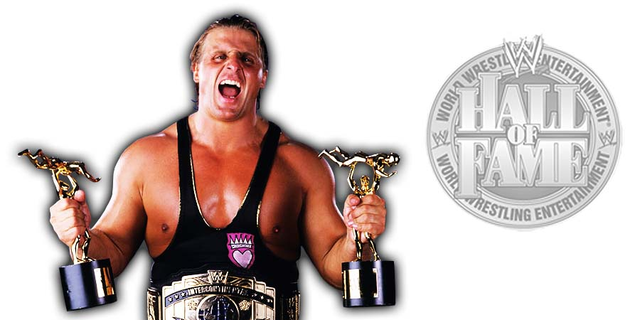 Owen Hart WWE Hall Of Fame