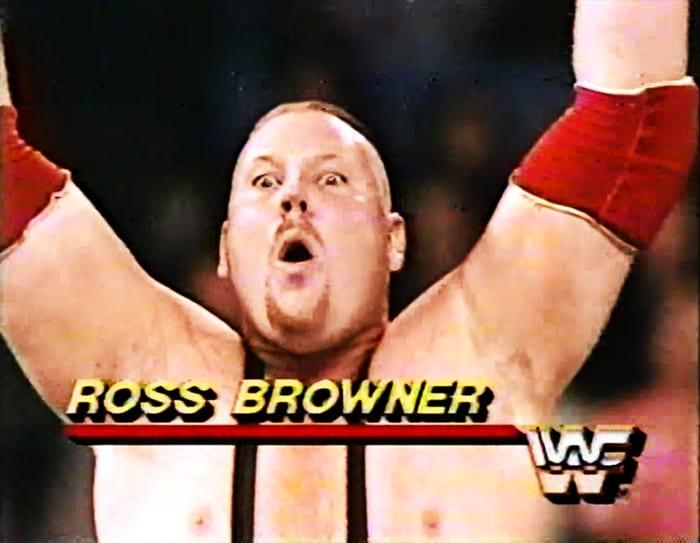 Ross Browner WWF Jobber