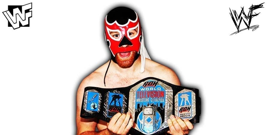 Sami Zayn Article Pic ROH TV Champion El Generico