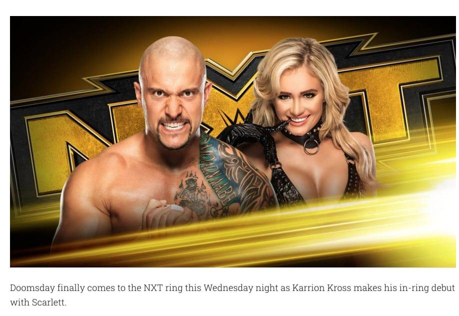 Scarlett Bordeaux's name shortened to Scarlett in WWE NXT