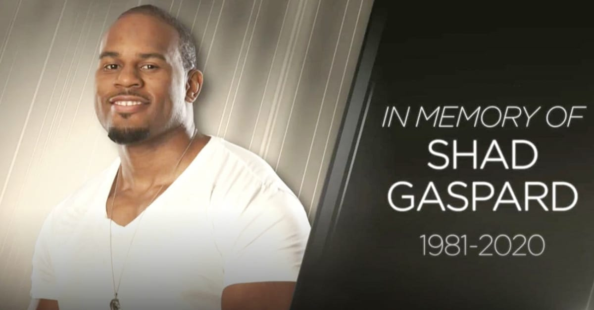 Shad Gaspard In Memory Of WWE RIP Rest In Peace Death Tribute Graphic