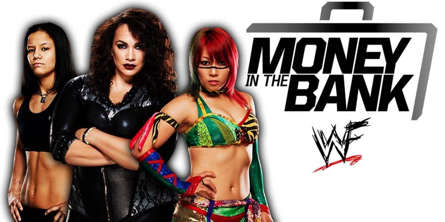 Shayna Baszler Nia Jax Asuka Money In The Bank 2020