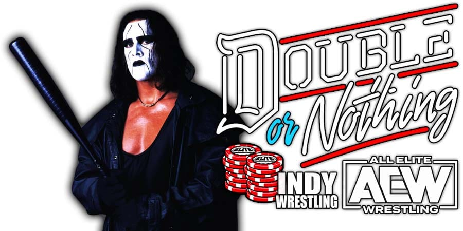 Sting AEW Double Or Nothing