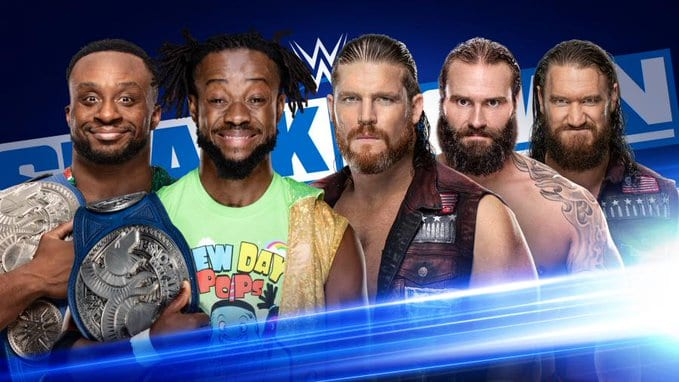 The New Day vs The Forgotten Sons - WWE SmackDown