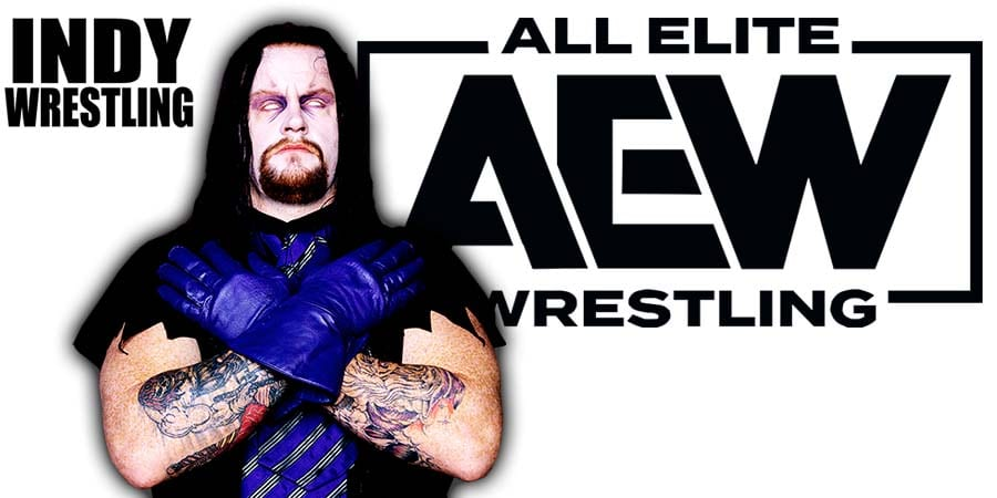 The Undertaker AEW All Elite Wrestling Article Pic 1