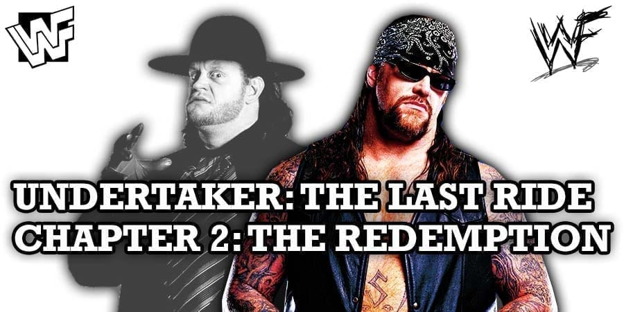 The Undertaker The Last Ride Chapter 2 The Redemption