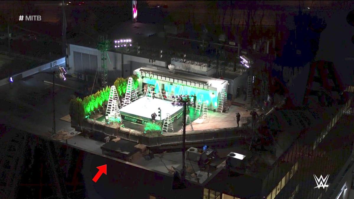 WWE Crash Pad At Money In The Bank 2020