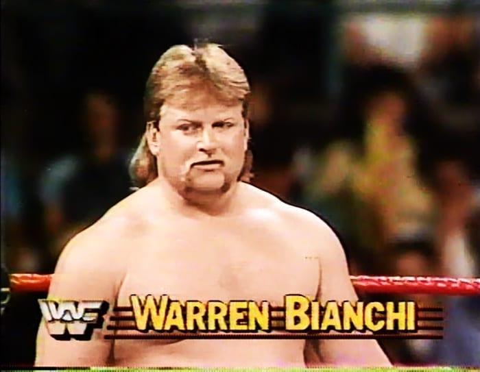 Warren Bianchi WWF Jobber