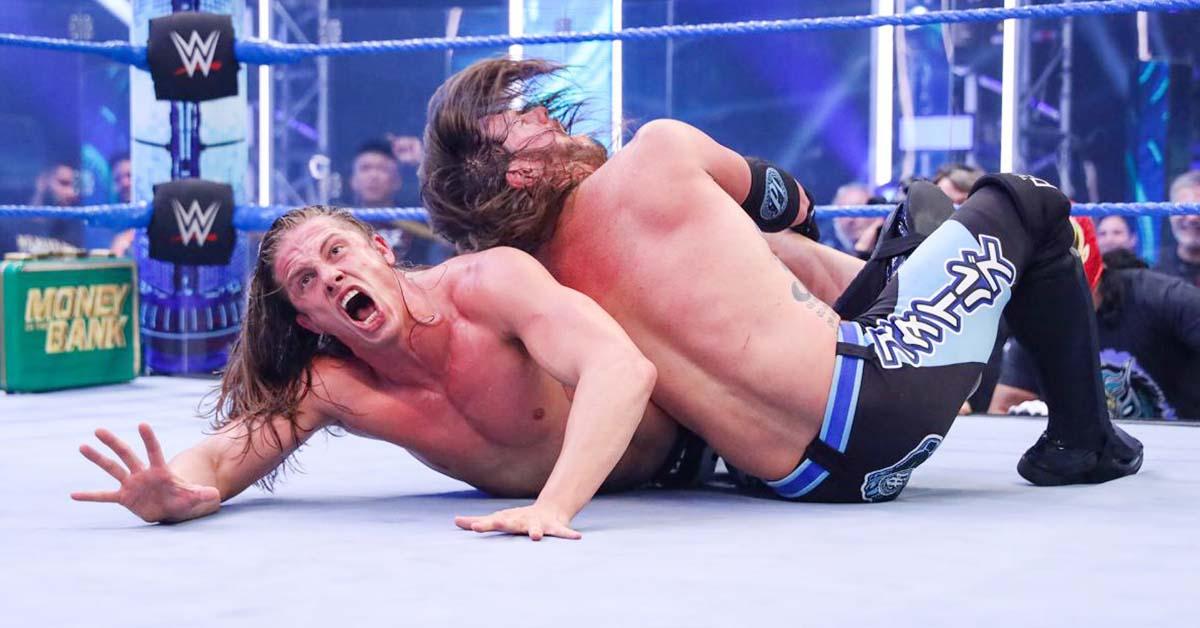 AJ Styles Calf Crusher On Matt Riddle WWE SmackDown June 2020