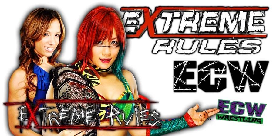 Asuka vs Sasha Banks - Extreme Rules 2020