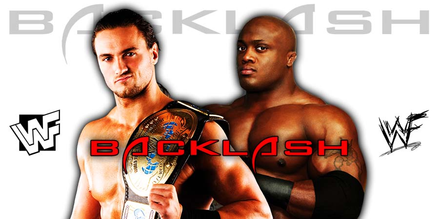 Bobby Lashley vs Drew McIntyre - Backlash 2020
