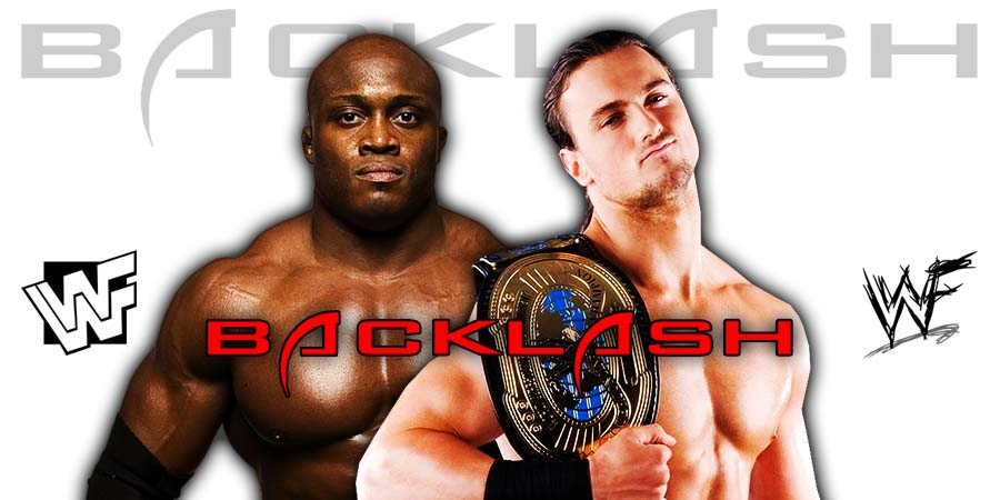 Bobby Lashley vs Drew McIntyre For The WWE Championship - Backlash 2020
