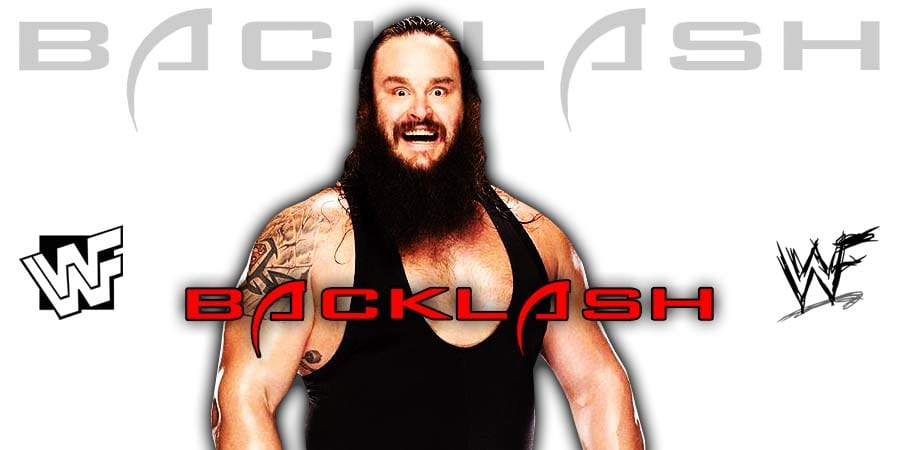 Braun Strowman WWE Backlash 2020