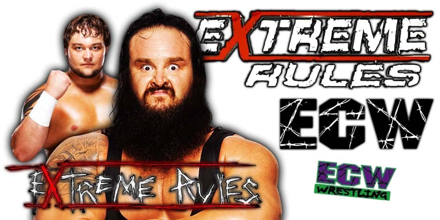 Bray Wyatt vs Braun Strowman - Extreme Rules 2020 Swamp Fight