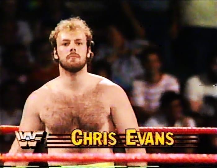 Chris Evans WWF Jobber