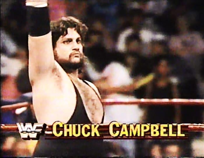 Chuck Campbell WWF Jobber