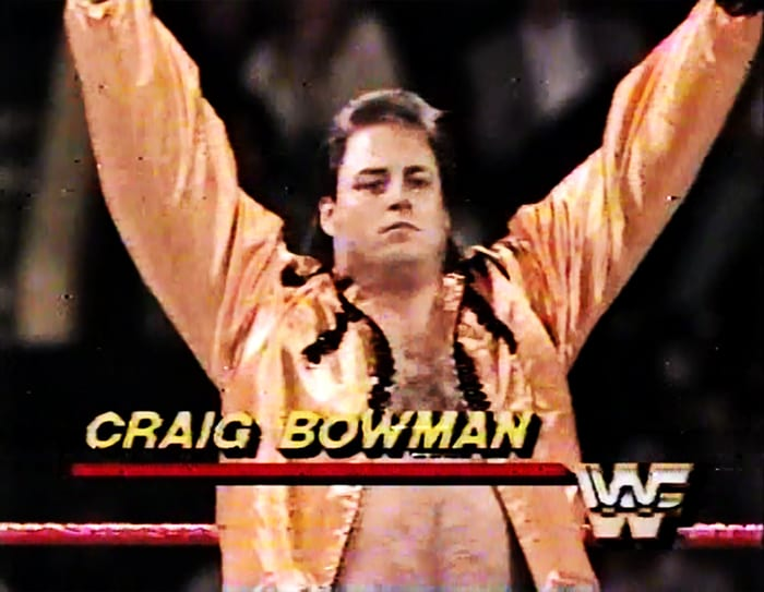 Craig Bowman WWF Jobber