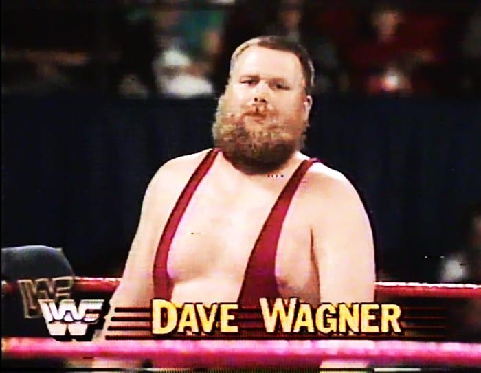 Dave Wagner WWF Jobber