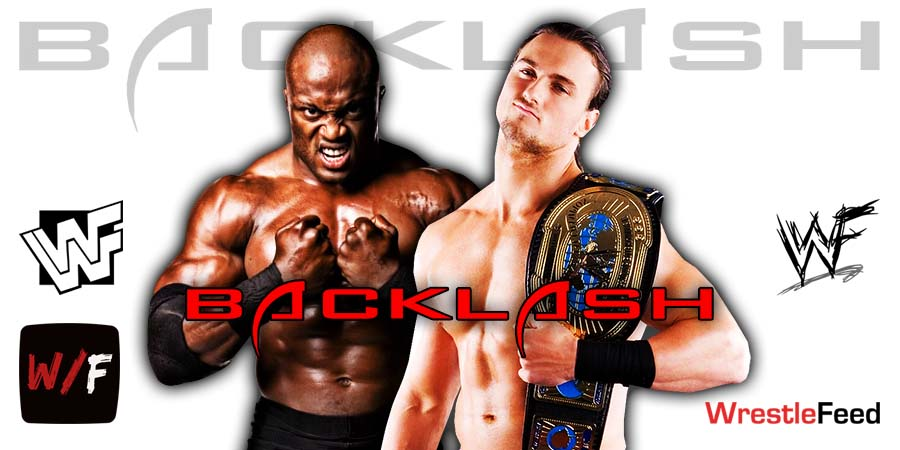 Drew McIntyre Defeats Bobby Lashley At WWE Backlash 2020 WrestleFeed App