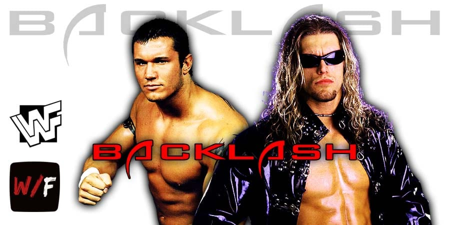 Edge Injured During Match With Randy Orton At WWE Backlash 2020