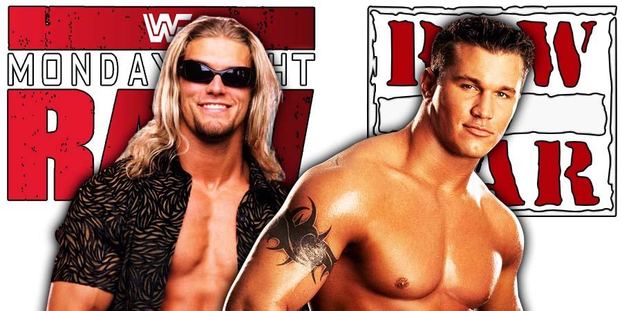 Edge Randy Orton RAW Article Pic