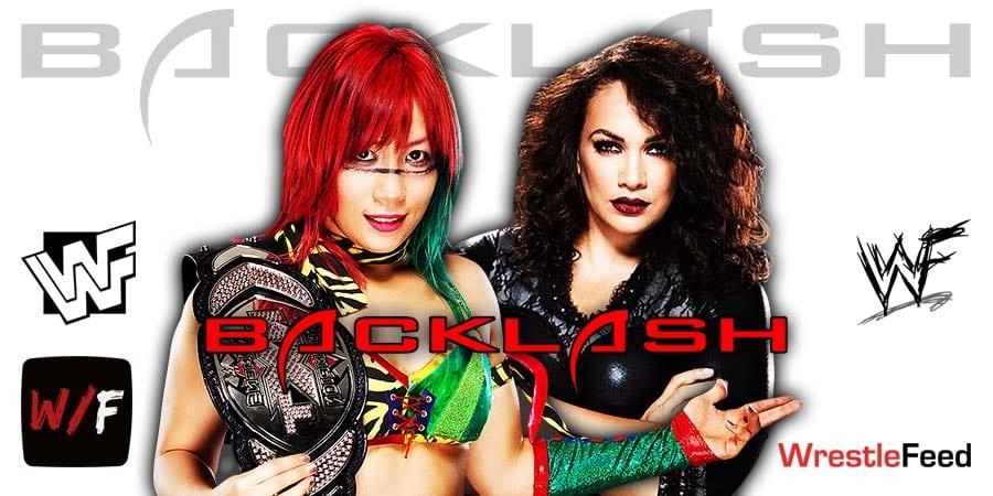 Finish For Asuka vs Nia Jax At WWE Backlash 2020 Changed