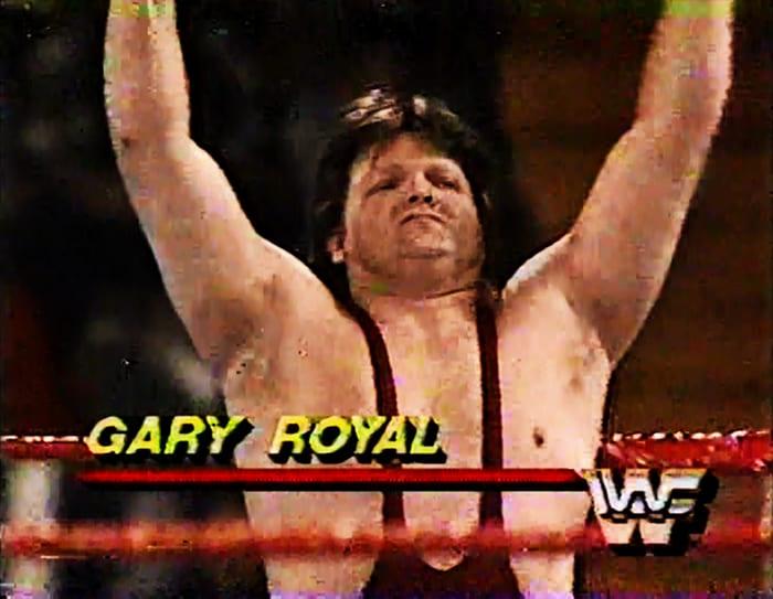 Gary Royal WWF Jobber