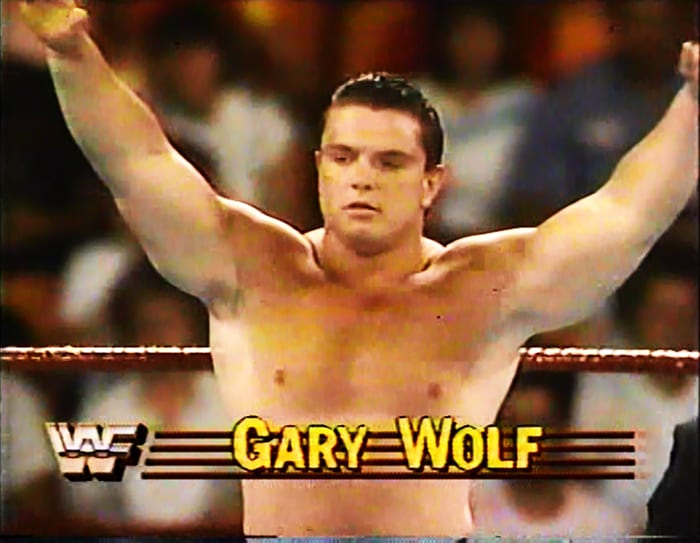 Gary Wolf WWF Jobber