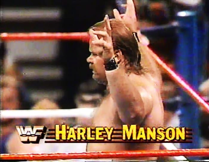Harley Manson WWF Jobber