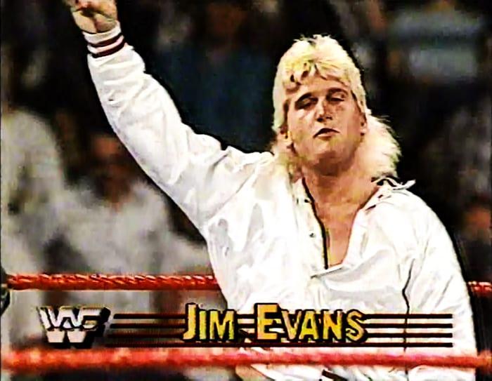 Jim Evans WWF Jobber