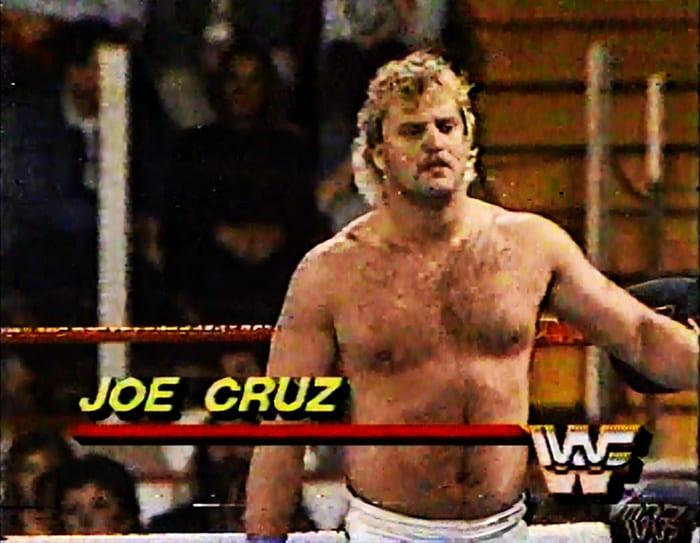 Joe Cruz WWF Jobber
