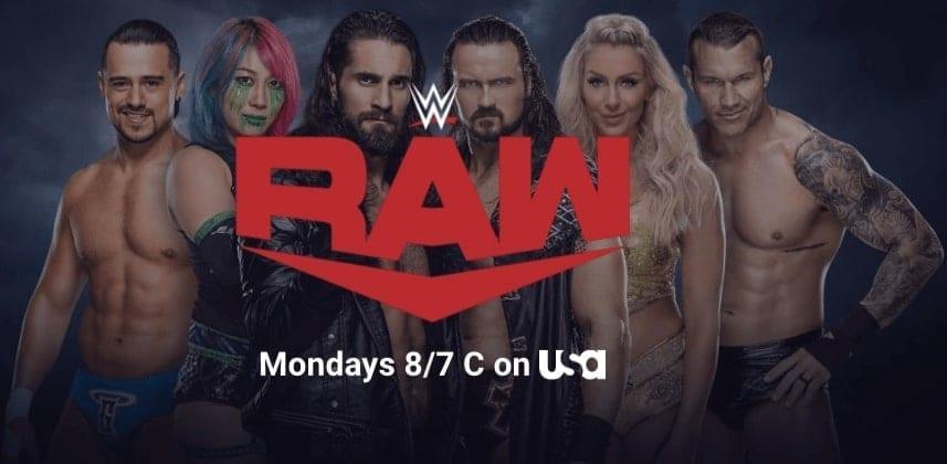 New RAW Top Stars Banner WWE Website June 2020