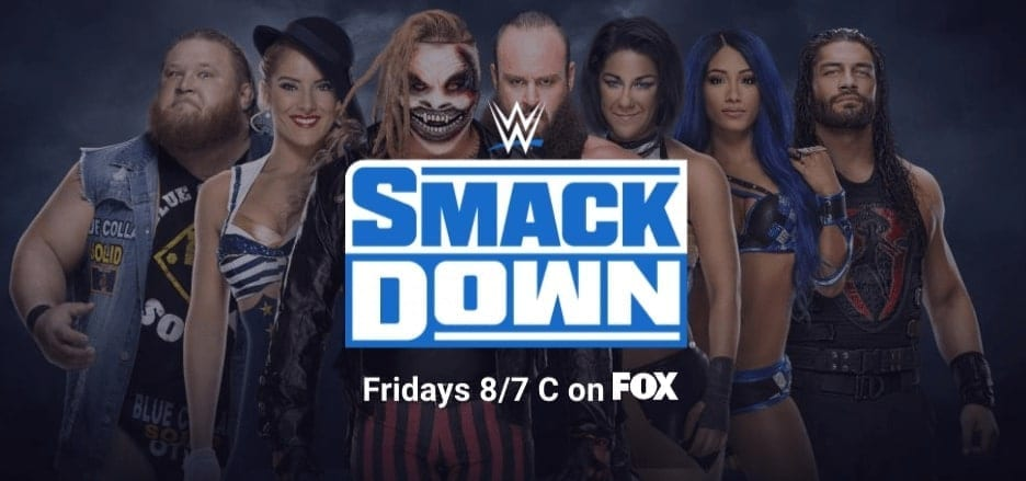 New SmackDown Top Stars Banner WWE Website June 2020