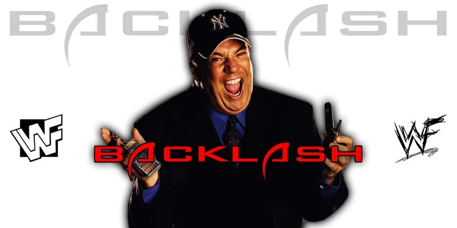 Paul Heyman WWE Backlash 2020