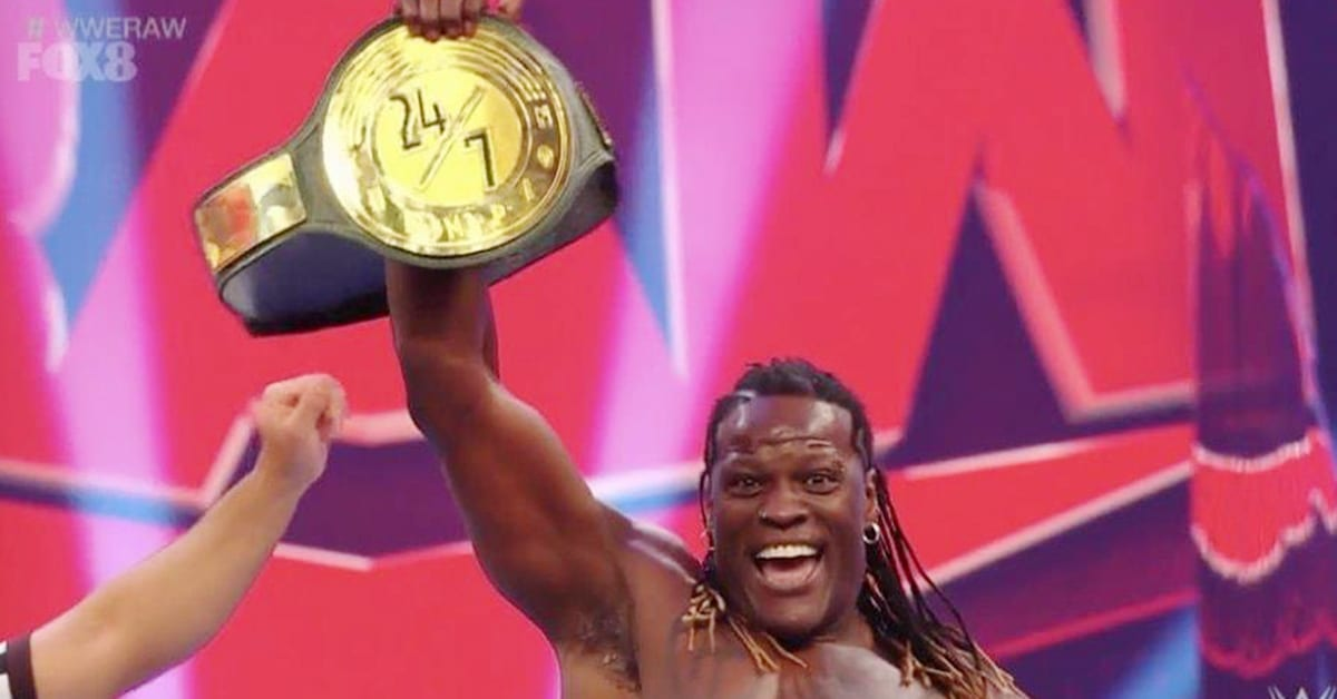 R-Truth Wins WWE 24 7 Championship On RAW June 2020
