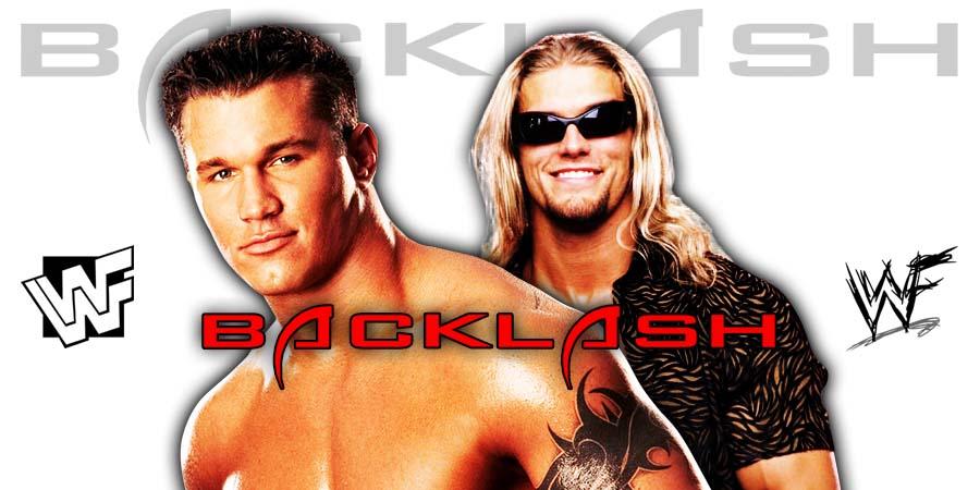 Randy Orton Edge Rematch WWE Backlash 2020