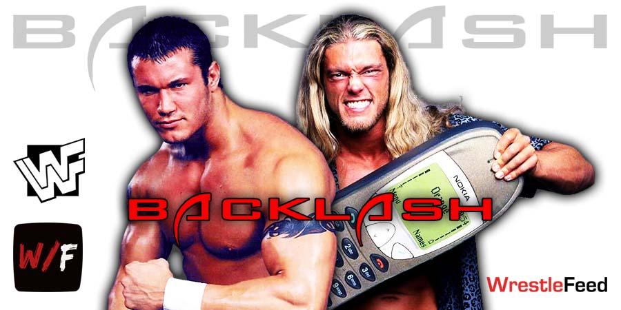 Randy Orton vs Edge WWE Backlash 2020 WrestleFeed App