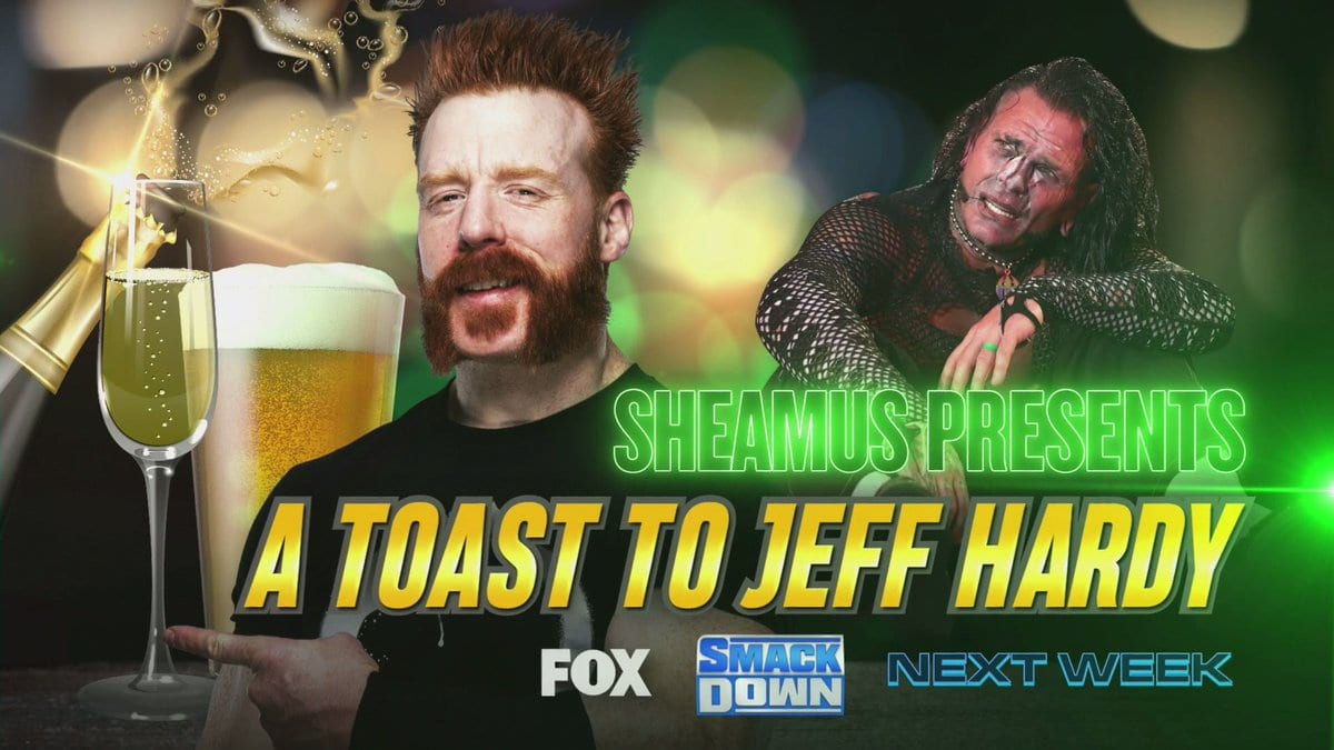 Sheamus Presents A Toast To Jeff Hardy WWE SmackDown